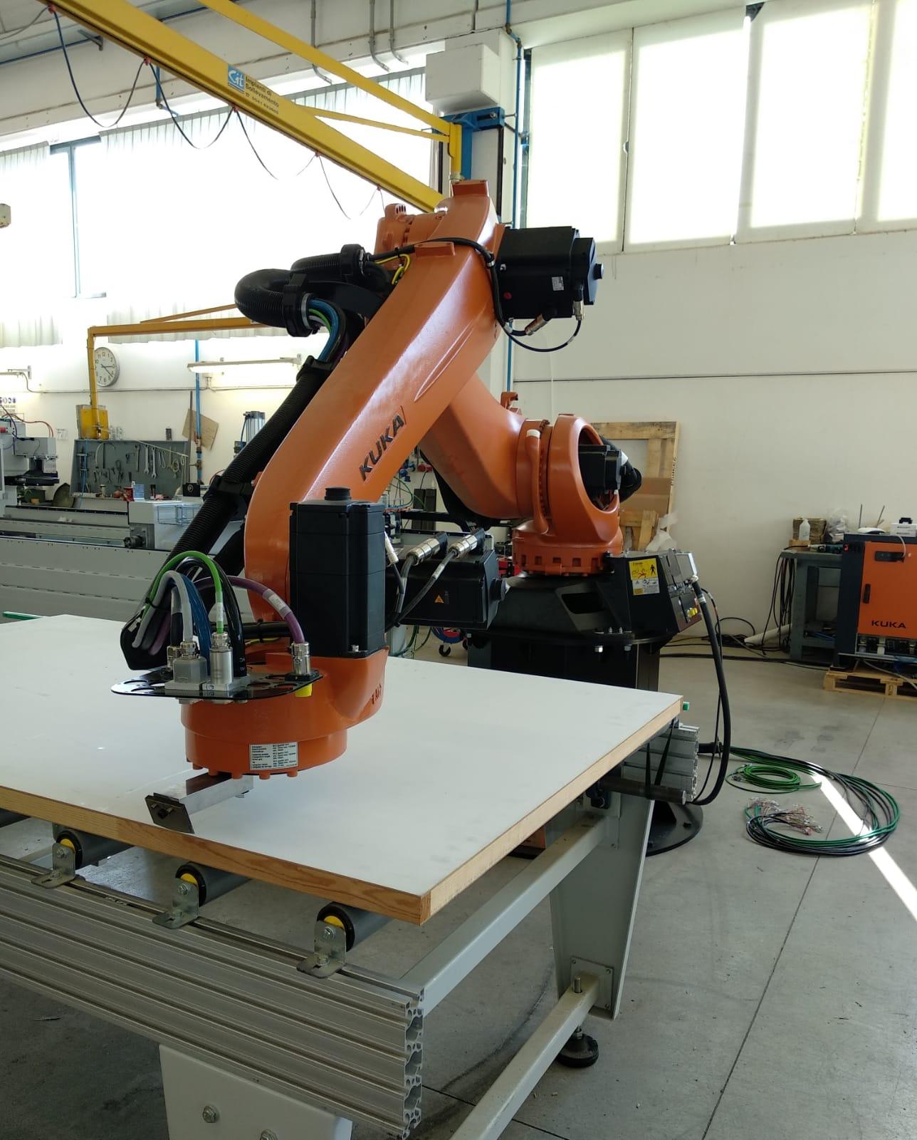 new machinery with Kuka robots