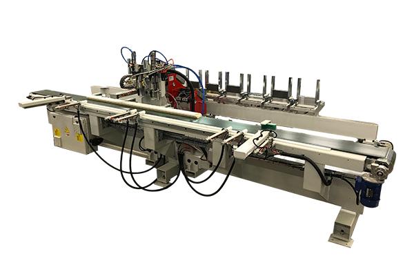 Hardware assembling machines